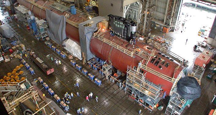 Submarino nuclear de la clase Virginia de EEUU (archivo)