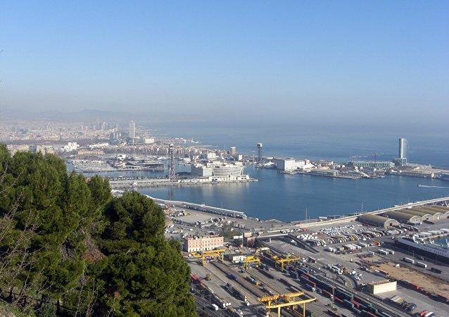 Puerto de Barcelona (imagen referencial)