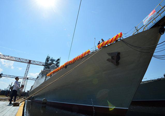 Fragata rusa del proyecto Guepard 3.9
