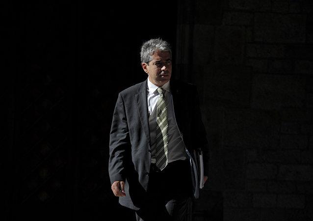 Catalonian government spokesman Francesc Homs