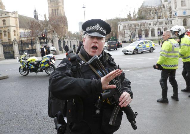 Tiroteo frente al Parlamento británico