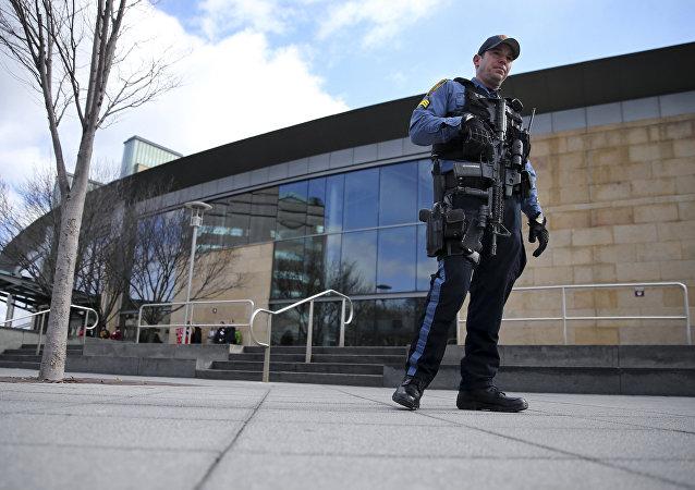 Un policía (archivo)
