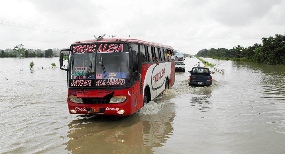 Inundaciones en Ecuador