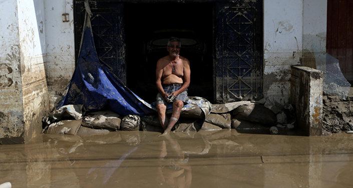 Inundaciones en Perú (archivo)