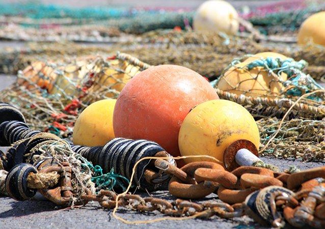 Redes de pesca (imagen referencial)
