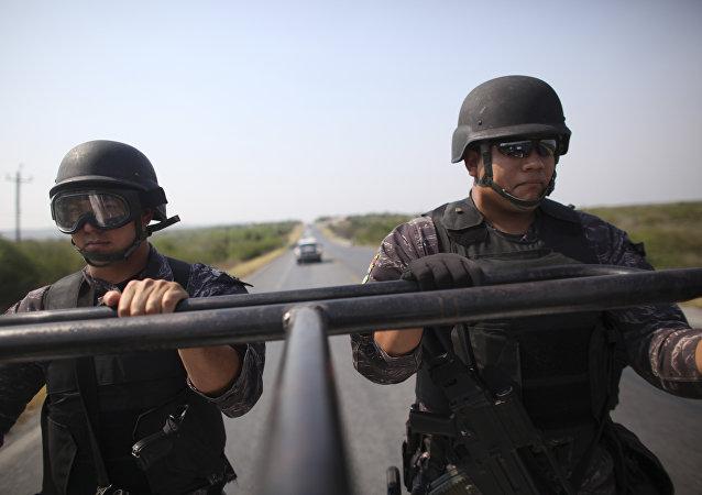 Los policías mexicanos