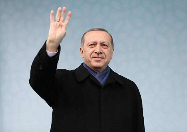 Recep Tayyip Erdogan, presidente turco (archivo)