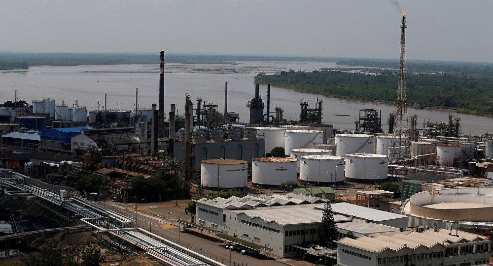Una refinería de petróleo en Colombia (imagen referencial)