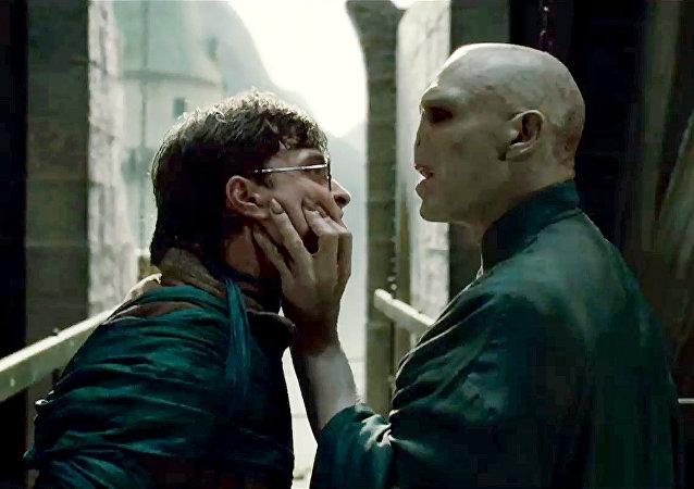 Captura de pantalla de una de las películas protagonizadas por Harry Potter