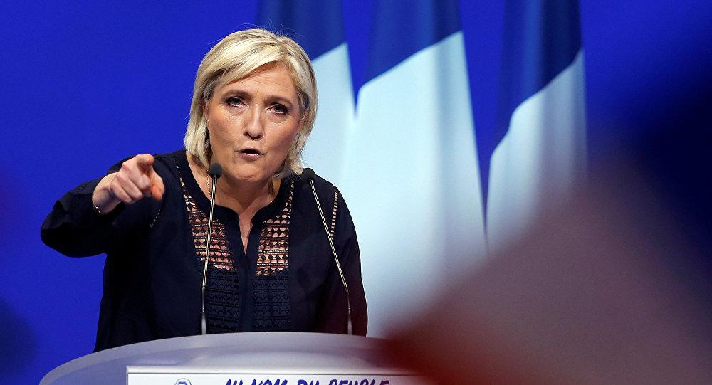 Le Pen dice que las hostilidades contra Rusia son injustificadas