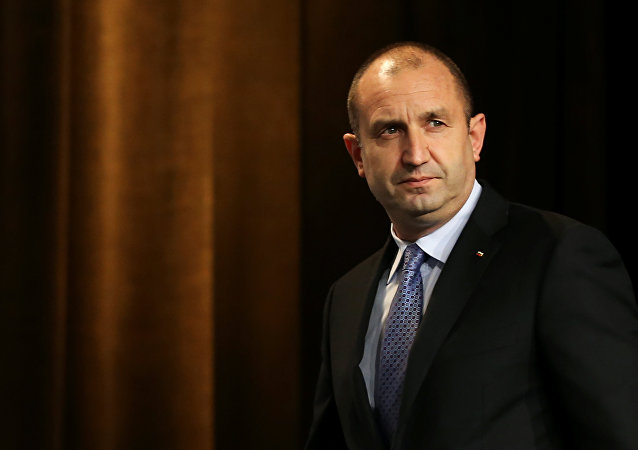 Rumen Radev, presidente de Bulgaria (archivo)