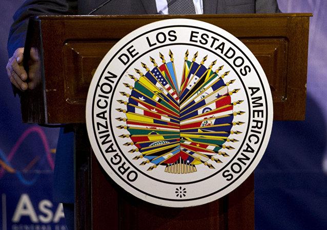 Logo de OEA (archivo)