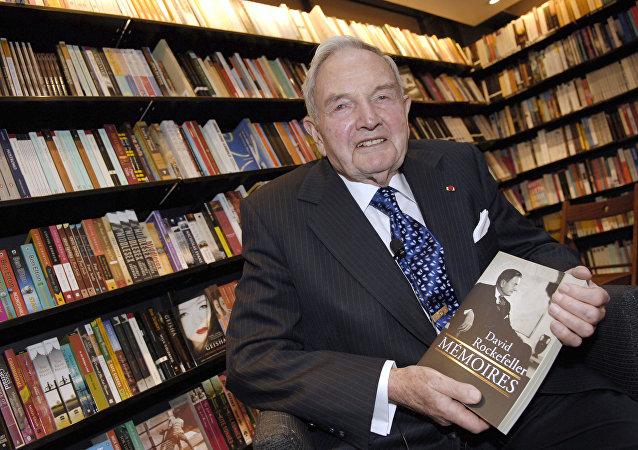 David Rockefeller, banquero y filántropo