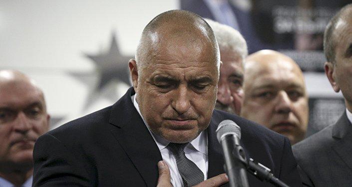 Boiko Borísov, primer ministro de Bulgaria