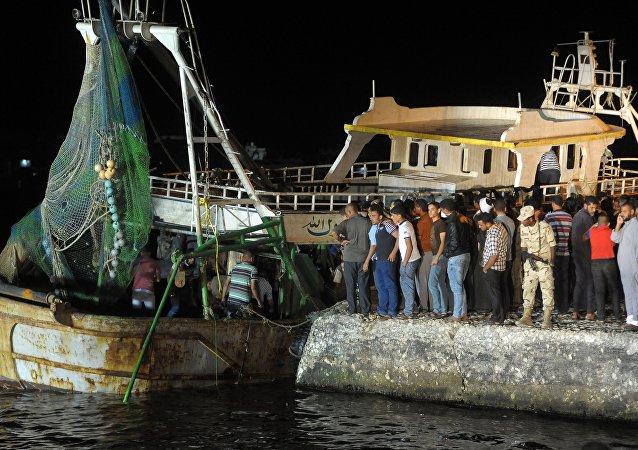 El barco que naufragó