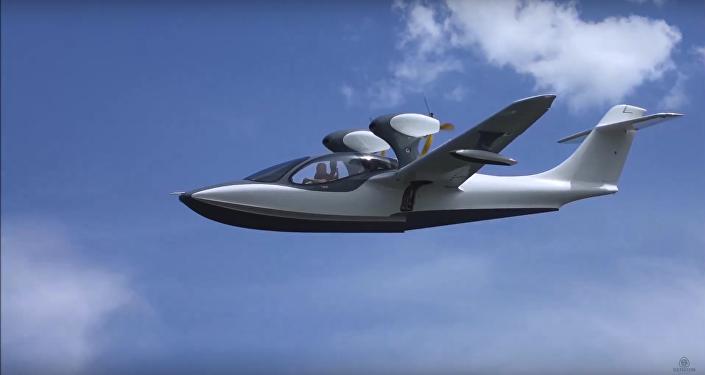 Hidroavión ASK-62 (captura de pantalla)