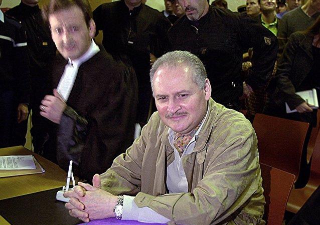 Terrorista internacional Ilich Ramírez Sánchez, también conocido como Carlos y El Chacal