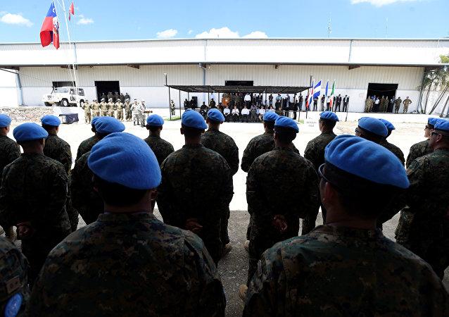 Las tropas de Chile en Haití