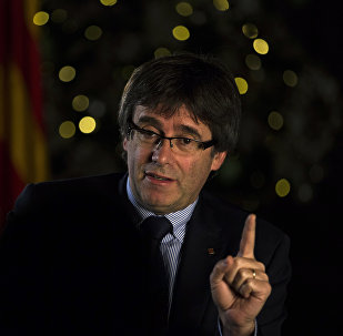 Carles Puigdemont, el presidente catalán cesado