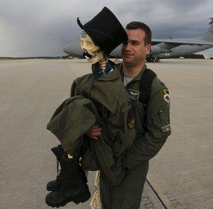 Eric Kordus, un militar de la OTAN (archivo)