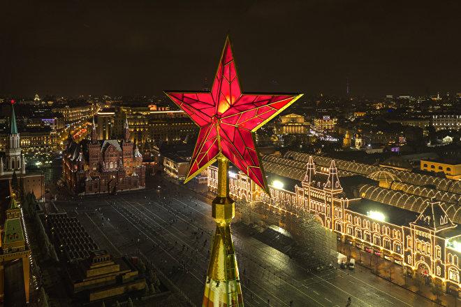 La Torre Spásskaya del Kremlin