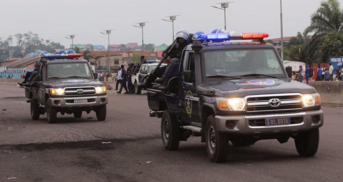 Policía de Congo (archivo)