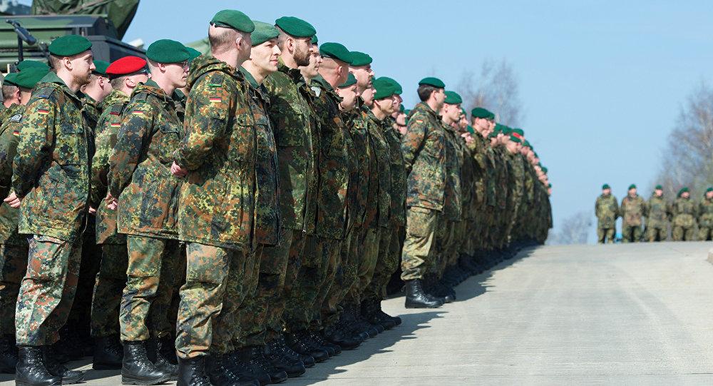 Militares del Ejército de Alemania (archivo)
