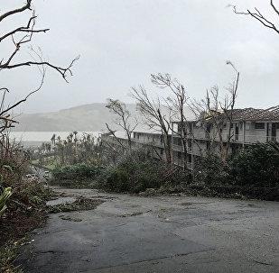 Consecuencias del ciclón Debbie