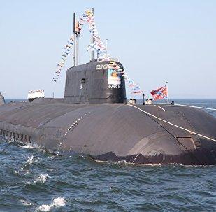 Submarino nuclear ruso (archivo)