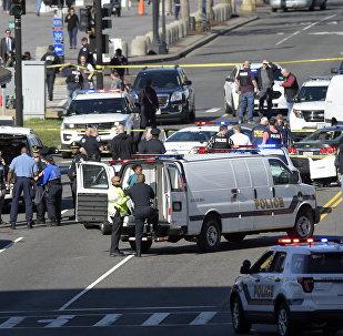 Bloquean el Capitolio de EEUU después de que se informara sobre un tiroteo