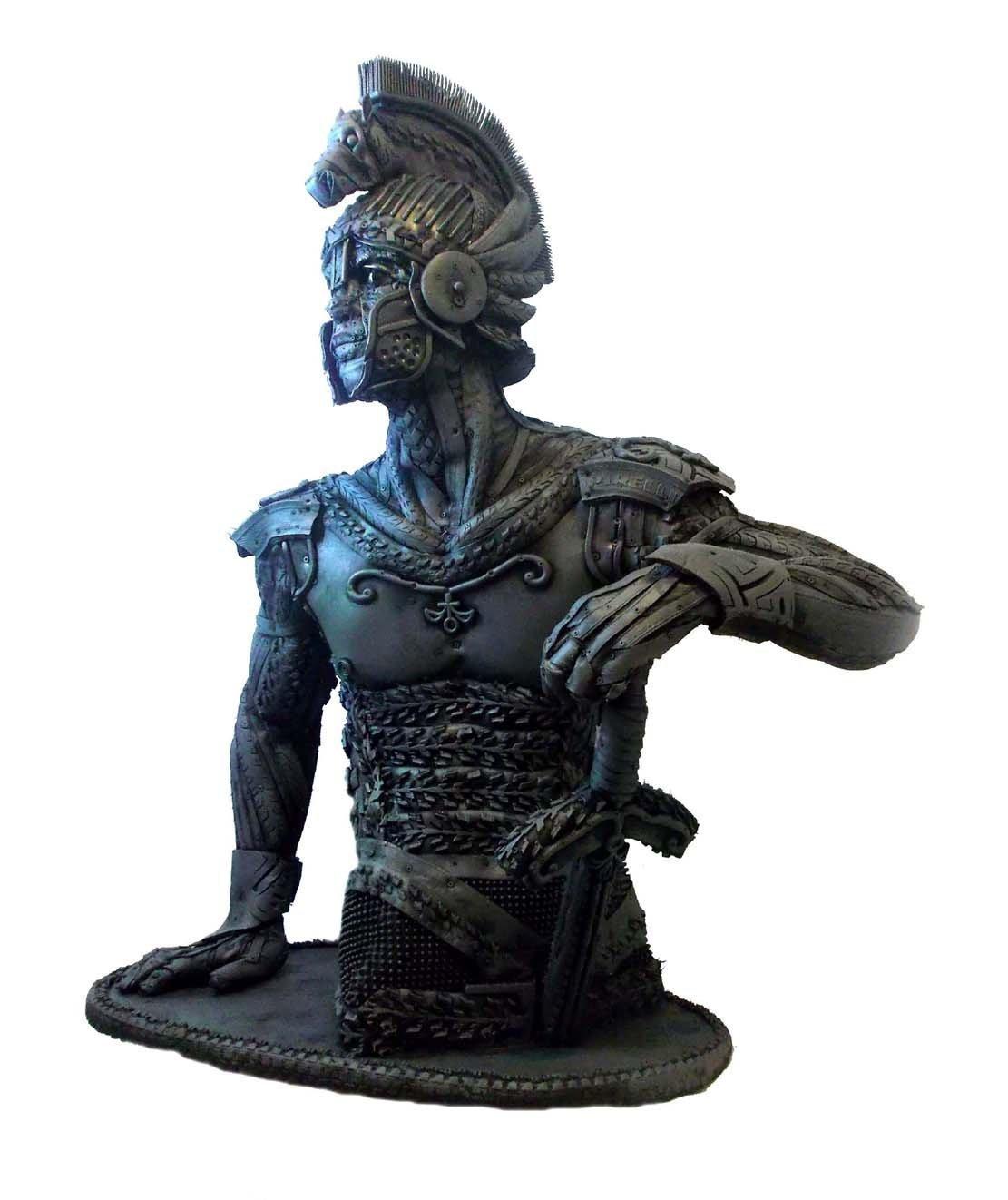Las esculturas de Ángel Cañas