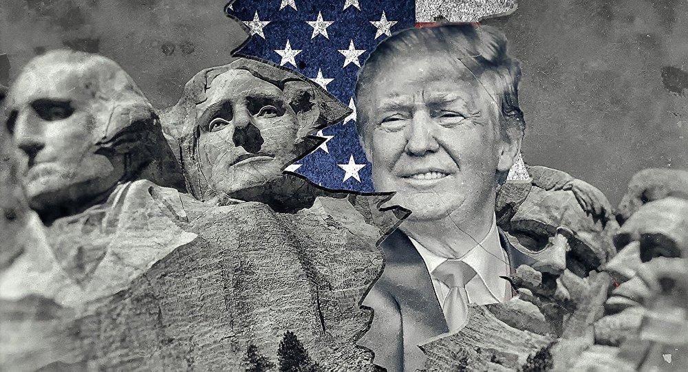 Trump y los padres de EEUU.