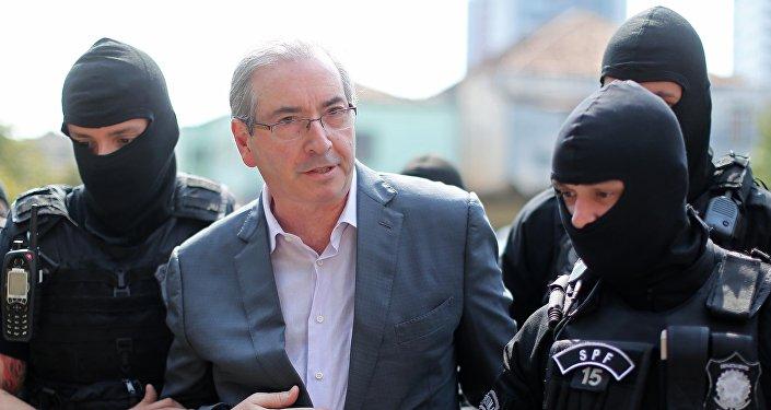 Expresidente de la Cámara de Diputados de Brasil, Eduardo Cunha
