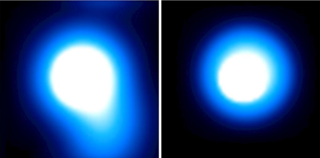 La explosión detectada por los investigadores de la NASA