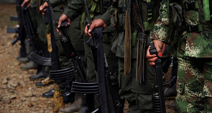 Los miembros de FARC (Archivo)