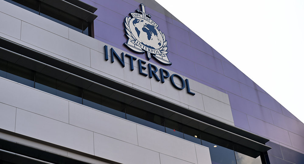 Logo de la Interpol