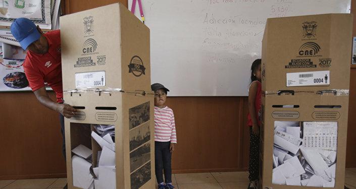 Elecciones presidenciales en Ecuador (archivo)