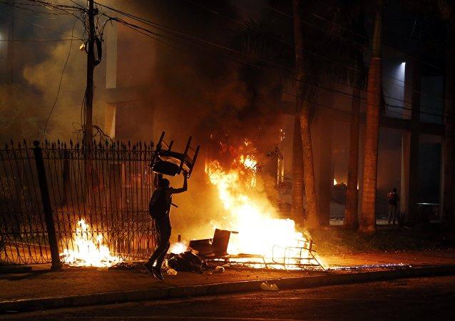 Protestas en Paraguay, 31 de marzo de 2017