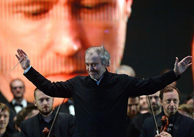Valeri Guérguiev, director de orquesta ruso