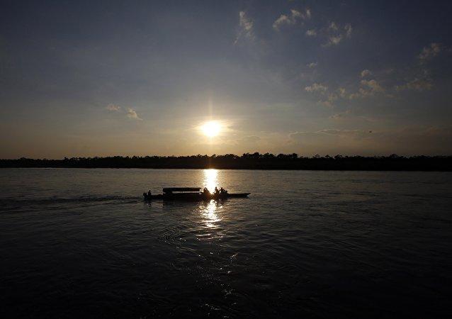 El río Putumayo (imagen referencial)