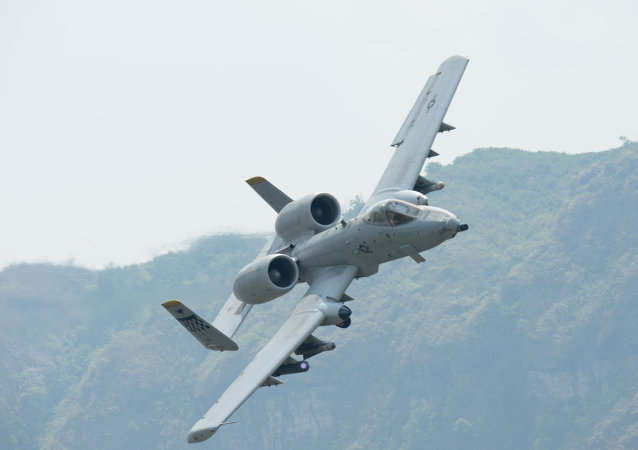 Avión de ataque A-10 Thunderbolt estadounidense (archivo)