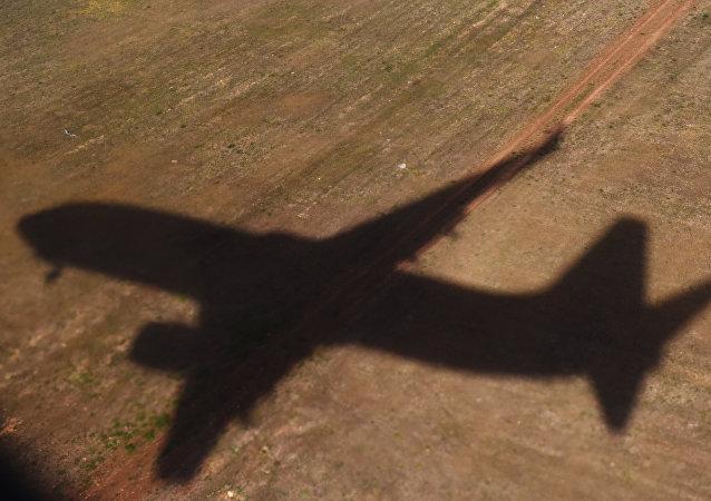 La sombra de un avión