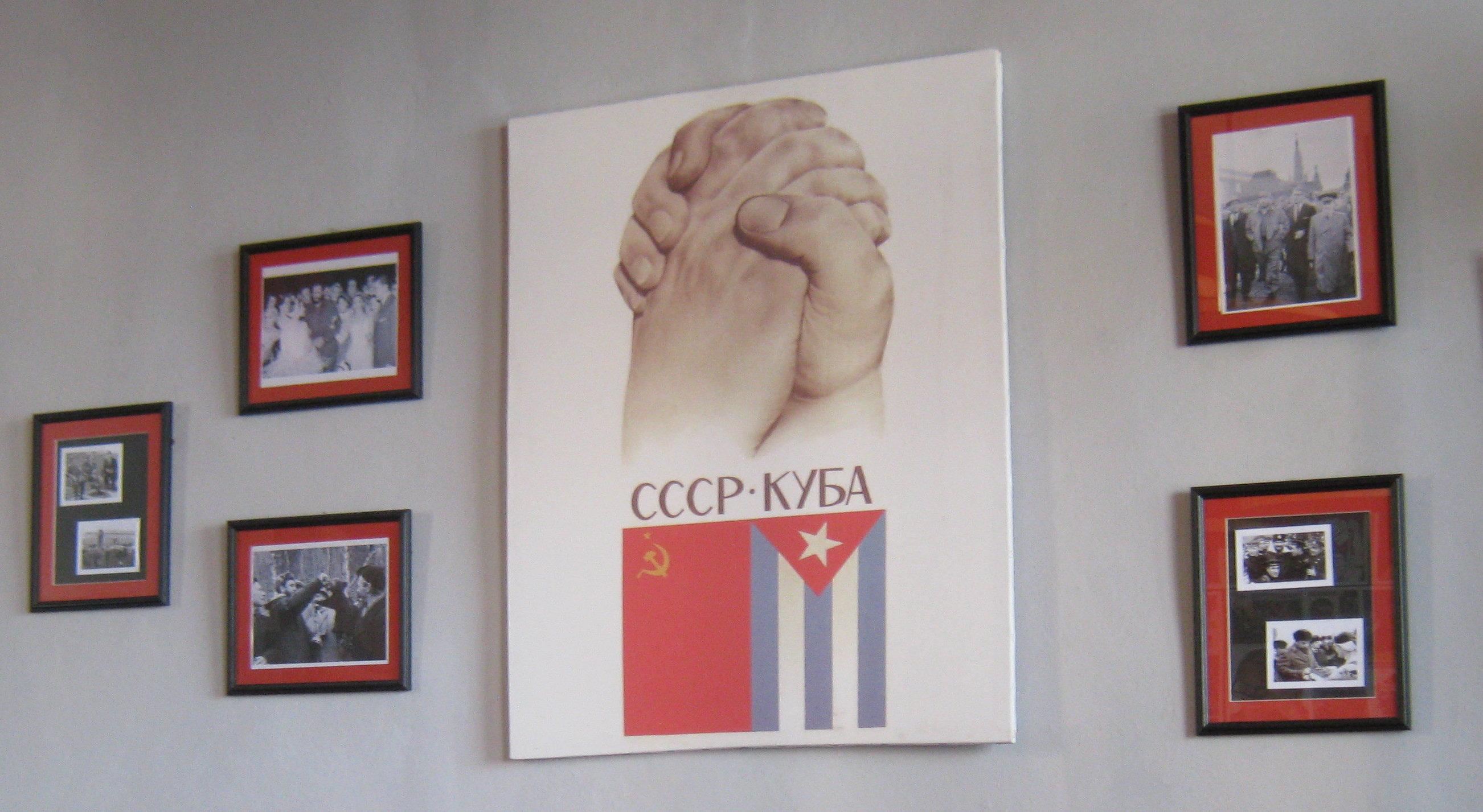Restaurante soviético Nazdarovie en La Habana