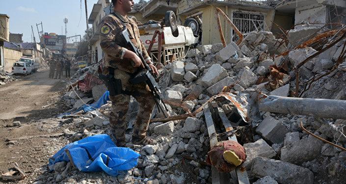 Mosul después del bombardeo