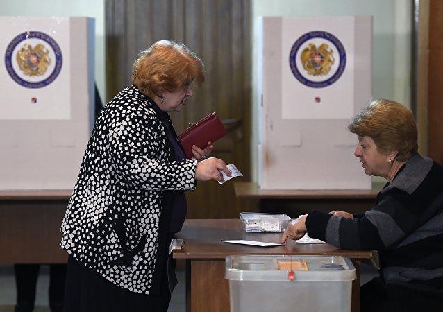 Elecciones en Armenia