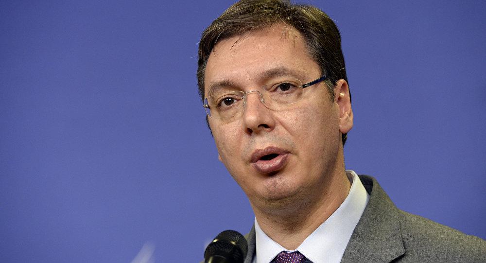Aleksandar Vucic, presidente de Serbia (archivo)