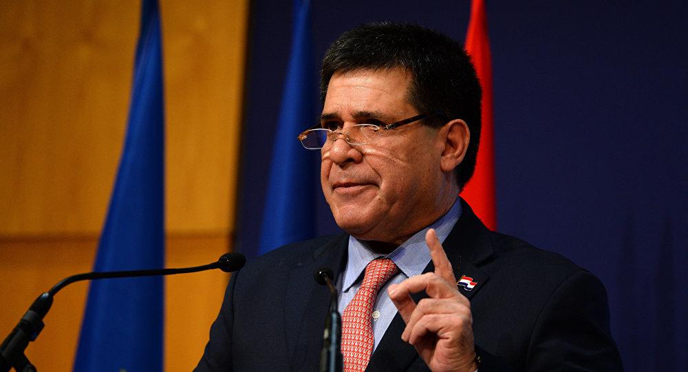 Horacio Cartes, presidente paraguayo