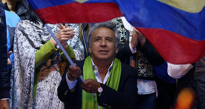 Lenín Moreno, el presidente de Ecuador (archivo)