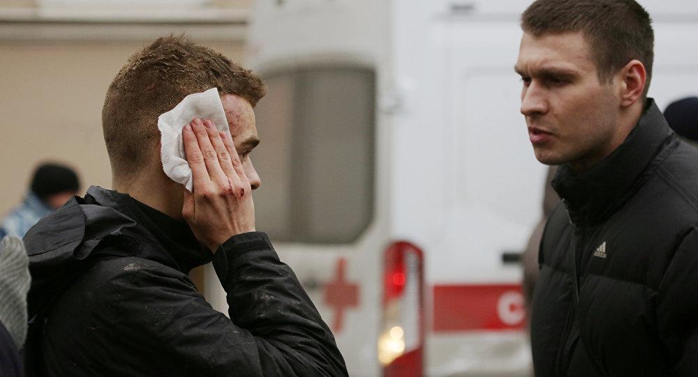 Un herido tras explosiones en San Petersburgo