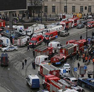 Situación en San Petersburgo tras explosión
